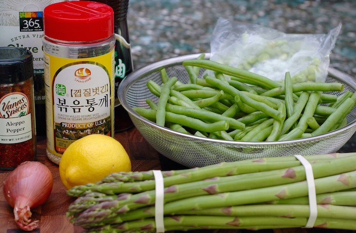 Asparagus, Green Bean and Edamame Salad - 1 of 10