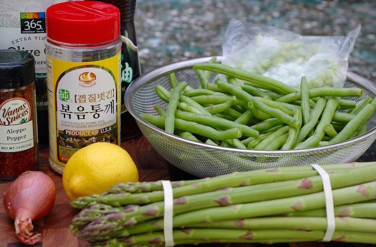 Asparagus, Green Bean and Edamame Salad - 1 of 10